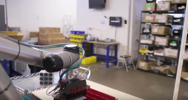 Robotic Materials Makes Robotics Hands for Factory Environments