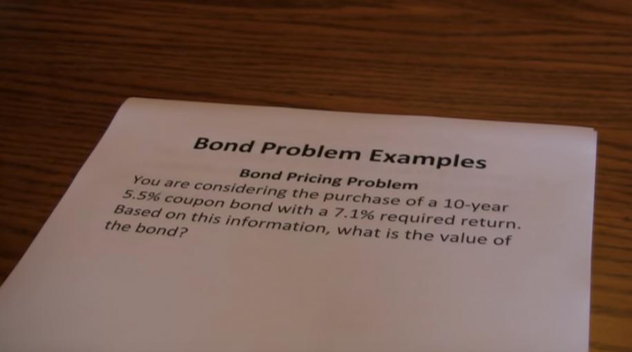 Explaining Bond Prices and Bond Yields