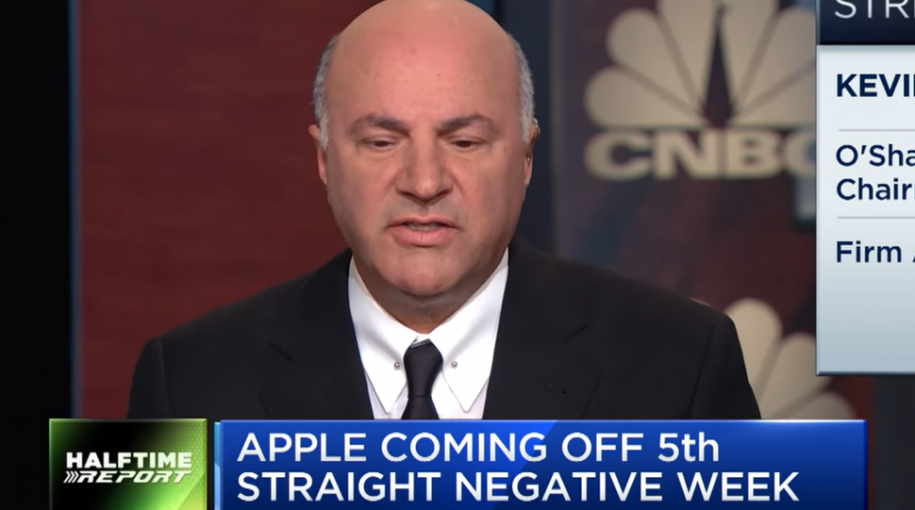 Kevin O'Leary on Apple Stock: 'I Don't Own It Anymore'