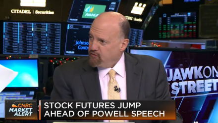 Jim Cramer: Trump Sees 'Cracks in Strength of the Economy'