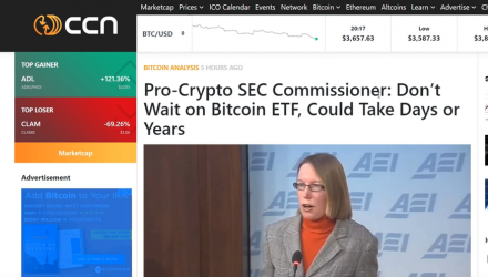 Bitcoin ETF - Don't Hold Your Breath Says SEC Commissioner