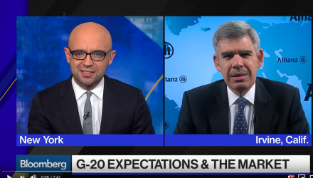 El-Erian Says Watch Fixed Income for Global Slowdown Signals