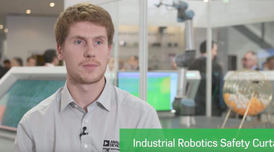 Industrial Robotics Safety Curtain
