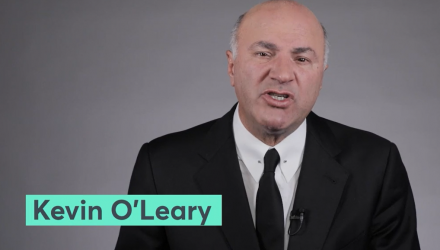 Kevin O'Leary on Volatility - 'Get Over It, It's Normal'