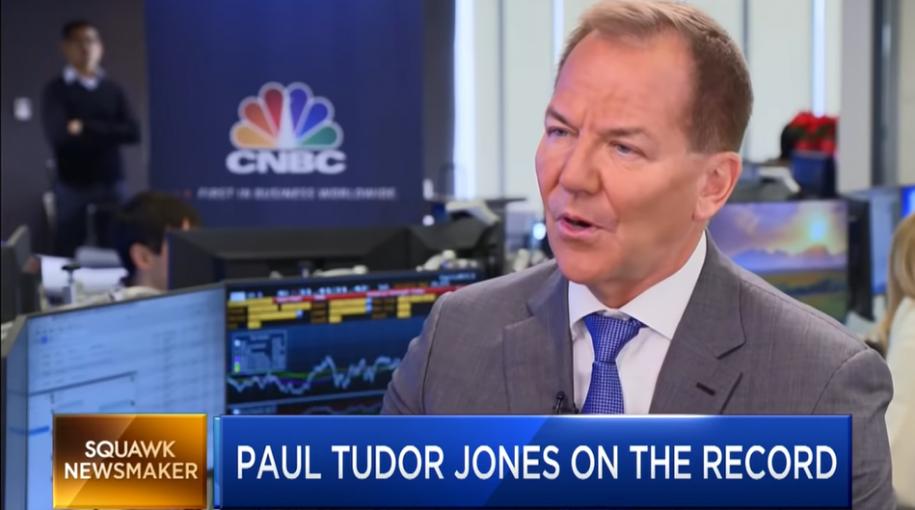 Paul Tudor Jones: Investors Should Brace Themselves for 'A Lot More Volatility'