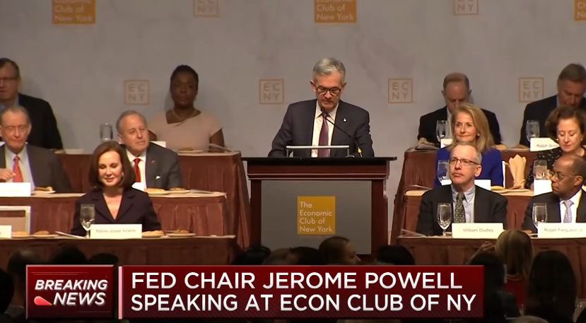 Watch Fed Chair's Jerome Powell's Full Speech on the US Economy