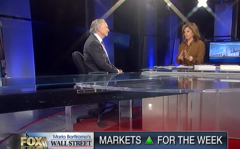Ray Dalio: The Federal Reserve Won't Consistently Raise Rates in 2019