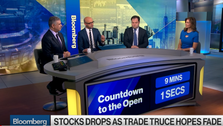 Alicia Levine, chief strategist at BNY Mellon Investment Management and Dan Skelly, head of equity model portfolio solutions at Morgan Stanley, examine how trade impacts markets and the Federal Reserve's rate path. They speak with Bloomberg's Jonathan Ferro on 'Bloomberg Markets: The Open.'