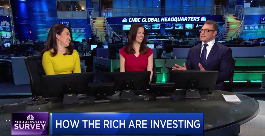 CNBC Survey: Millionaires Bullish on Economy and Stock Market