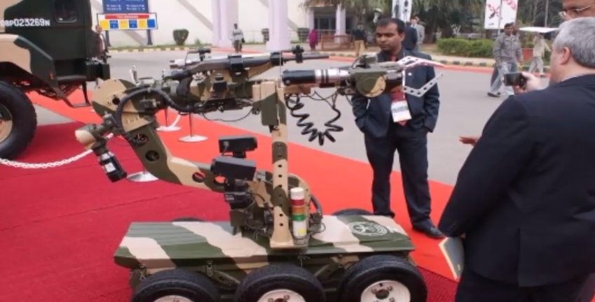 Artificial Intelligence, Robotics Part of Hi Tech Army Warfare Strategy