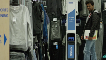 Simbe Robotics Brings Tally the Robot to Decathlon San Francisco