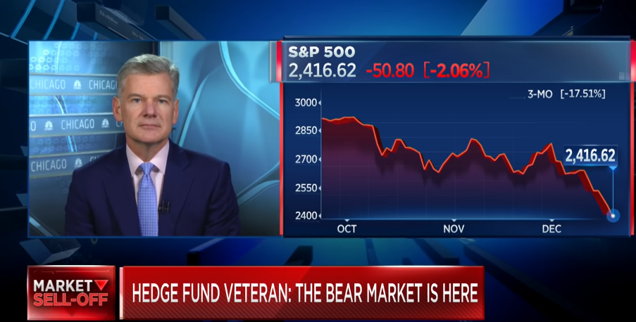 Hedge Fund Veteran Says the Bear Market Has Arrived, Here's Where You Want to Hide Out