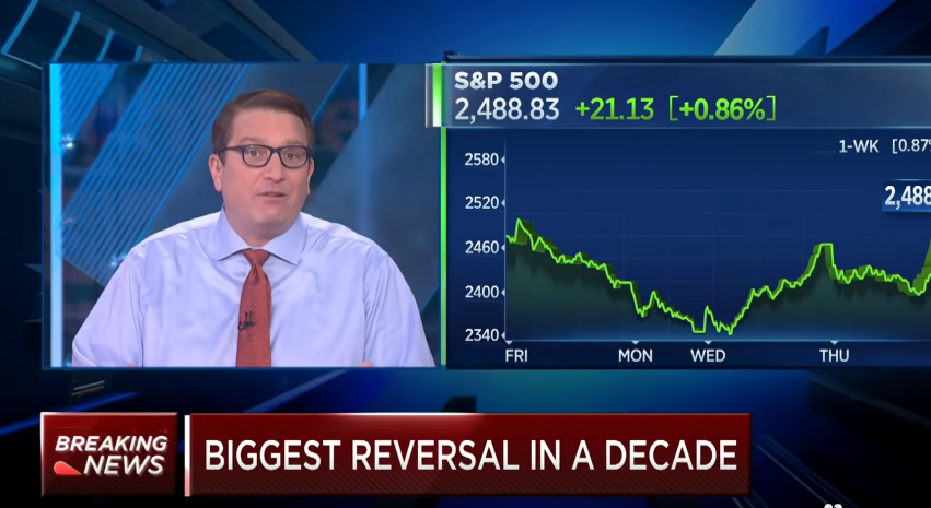 Stocks Just Staged the Biggest Reversal in a Decade, Is It Safe to Buy Again?