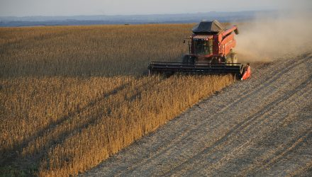 Soy ETF Slips as USDA Confirms U.S. Resumed Sales to China