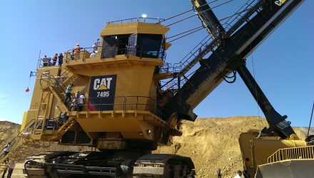Disappointing Caterpillar Q4 Drags Down Industrial ETFs