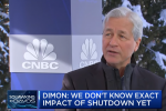 "Economy is ""Like a Ship"" Navigating Rough Waters, Says Jamie Dimon"