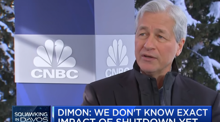 "Jamie Dimon: Economy is ""Like a Ship"" Navigating Rough Waters"