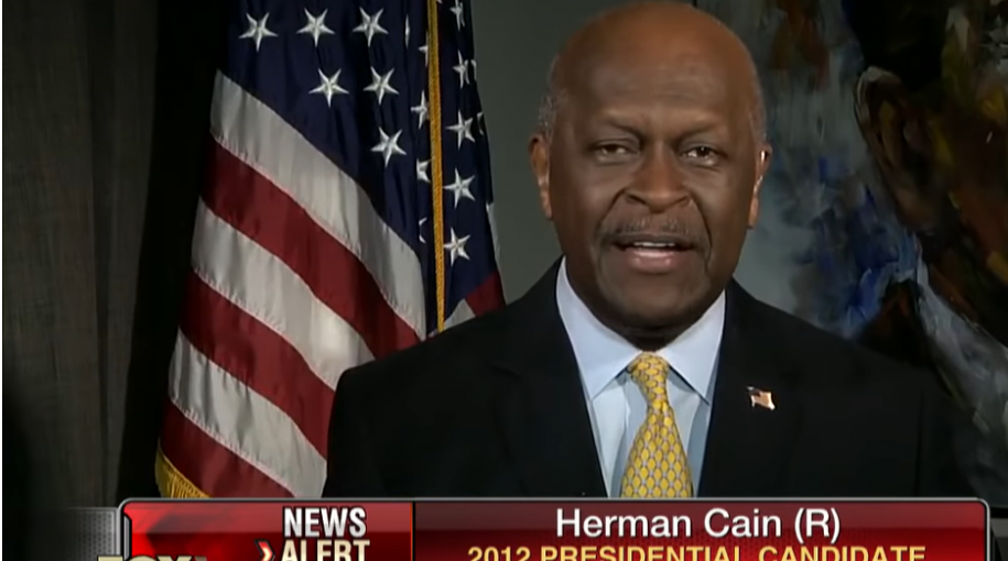 Herman Cain Under Consideration for Fed