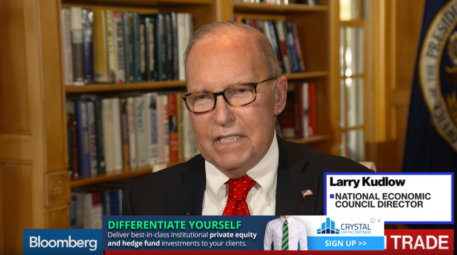 Kudlow Says a Trump, Powell Meeting Would Benefit Both Men