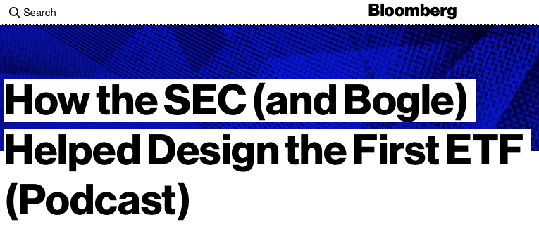 SEC Bogle First ETF