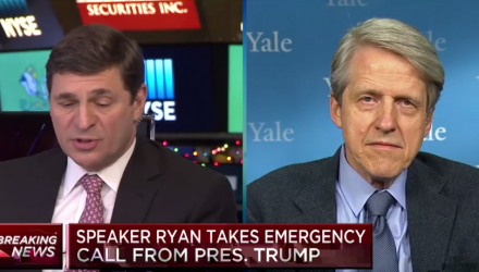 Robert Shiller Worries About Market Turmoil and Possible Recession