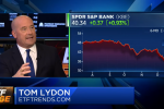 "Tom Lydon on CNBC on CNBC's ""ETF Edge"": Banks, Disruption, Myths, and a Model Portfolio"