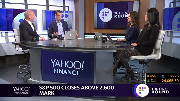 Tom Lydon on Yahoo! Finance Live: Behavioral Divergence, Quality and Disruption