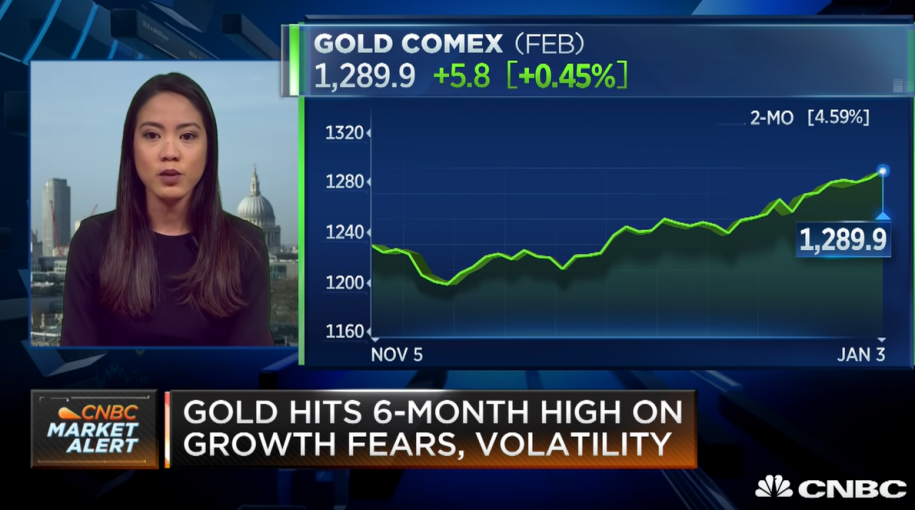 UBS' Teves: Gold Is Starting to Reassert Its Safe-Haven Status