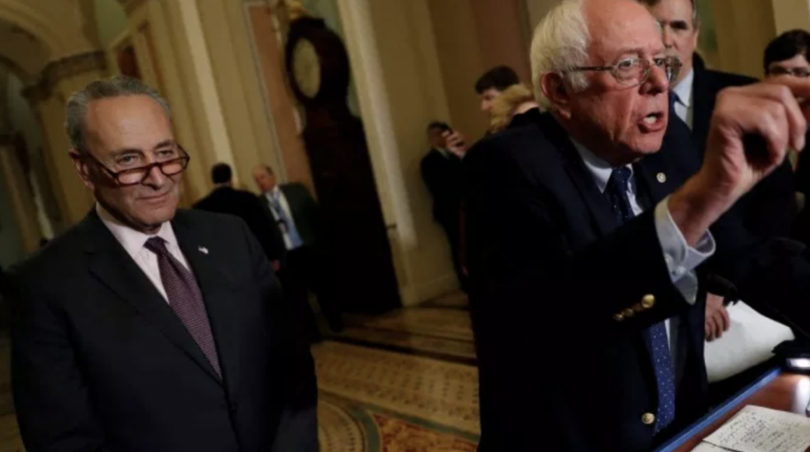 Chuck Schumer & Bernie Sanders Want One Thing: Your Money