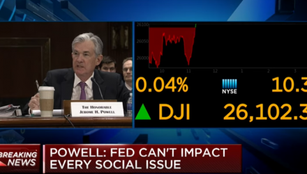 "Fed Chair: ""Crosscurrents and Conflicting Signals"" Warrant Patient Approach to Rates"