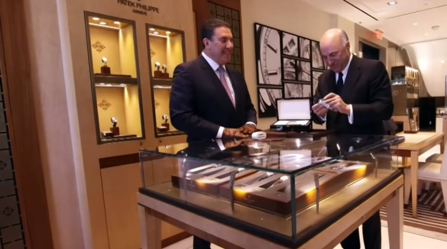 """This $30K Watch Made """"Shark Tank"""" TV Personality Kevin O'Leary Cry"""