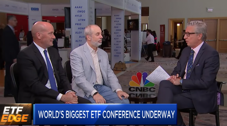 "Tom Lydon on CNBC's ""ETF Edge"": World's Biggest ETF Conference is Underway"