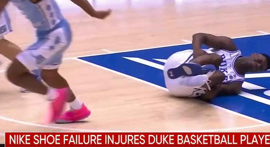 'WANT' ETF Slips as College Basketball Star's Nike Shoe Rips During Game