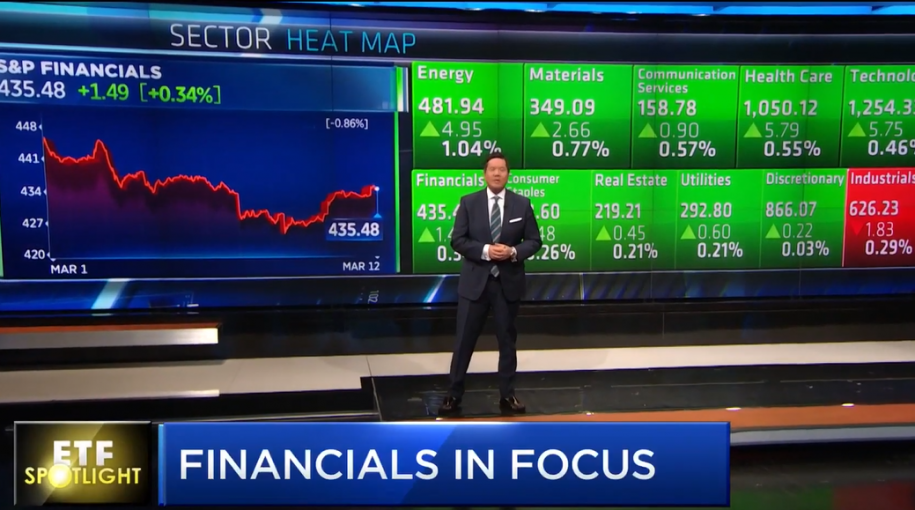 ETF Spotlight: Financials in Focus With FAS and FAZ