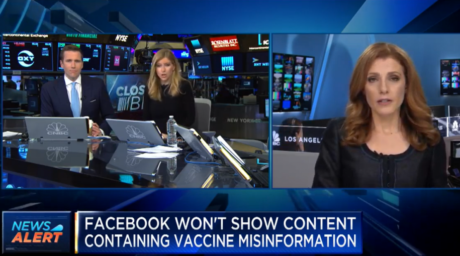 Facebook Won't Show Content Containing Vaccine Misinformation