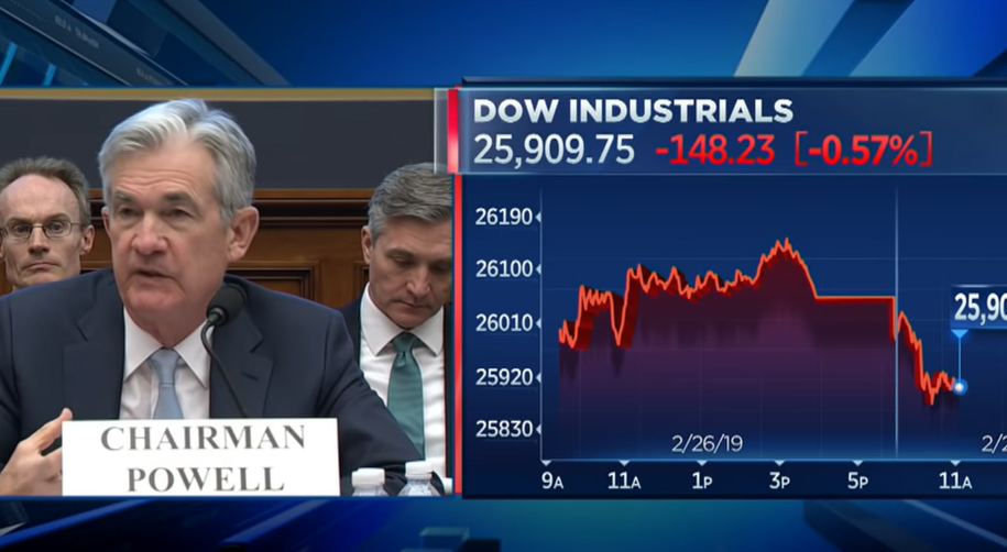 Federal Reserve Chair Powell: Household Debt Is Healthy
