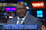 Former NBA Star Shaquille O'Neal Gets a Slice of Papa John's with Board Membership