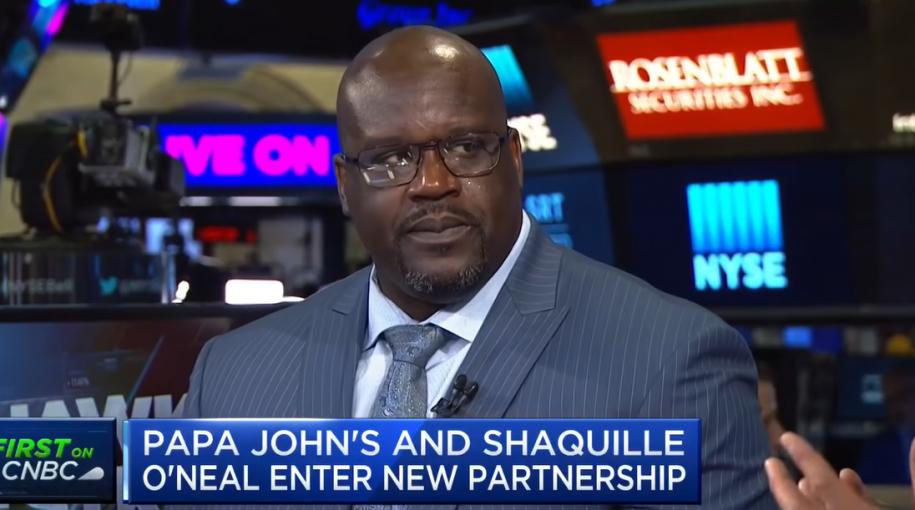 Shaq O'Neal Gets a Slice of Papa John's with Board Membership