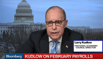 NEC's Kudlow on Jobs Report, Europe, and China Trade Talks