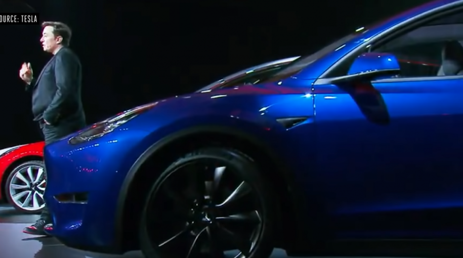 "Tesla Shares Fall After Model Y's ""Underwhelming"" Debut"