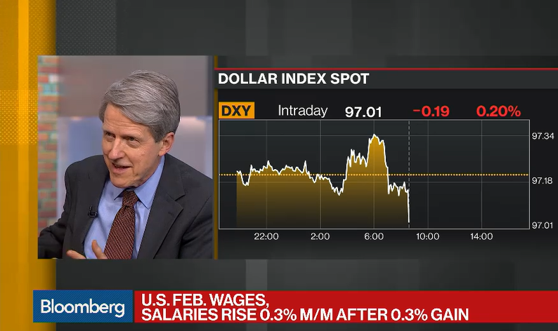 Shiller: Trump Has Brought Back Big Feeling Of US Confidence