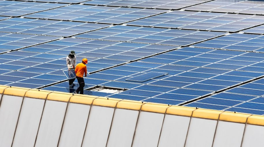 Solar ETF Higher by Nearly 30% Year-to-Date