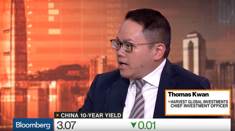 We're at Beginning of Long-Term Bull Market for China Bonds, Says Harvest Global's CIO