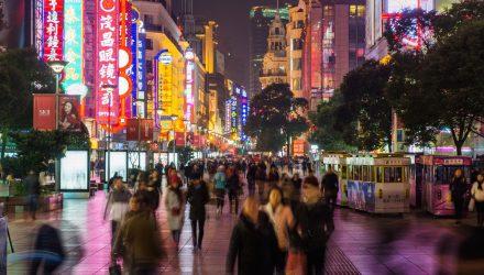 China ETFs Bounce on Strong Economic Data