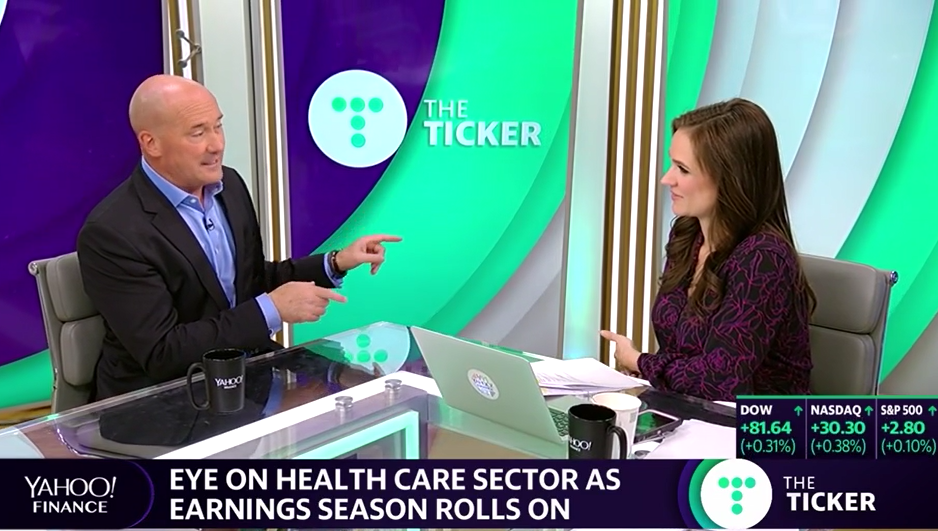 Tom Lydon on Yahoo Finance Live: SPY, Health Care, EM, and What to