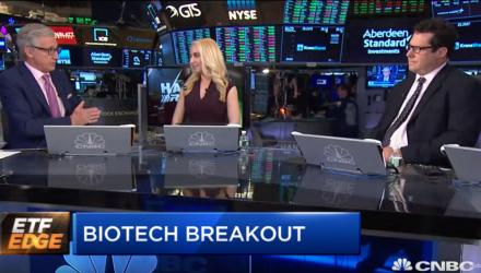 Biotech ETFs Jump