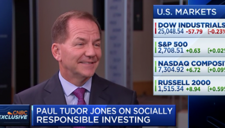 Legendary Investor Paul Tudor Jones -Tariff Troubles Are Making Way for a Rate Cut