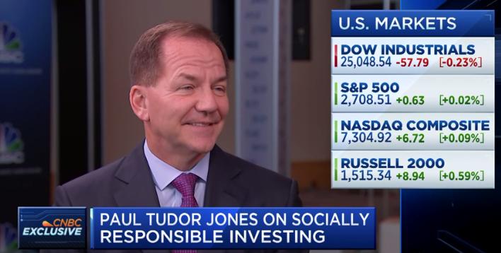 Legendary Investor Paul Tudor Jones: Rate Cuts Are Coming