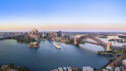 An Awesome Ascent For Australia ETF