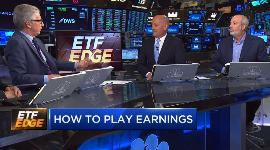 CNBC Halftime Report: Tom Lydon and Ric Edelman On What's Holding Back Transports